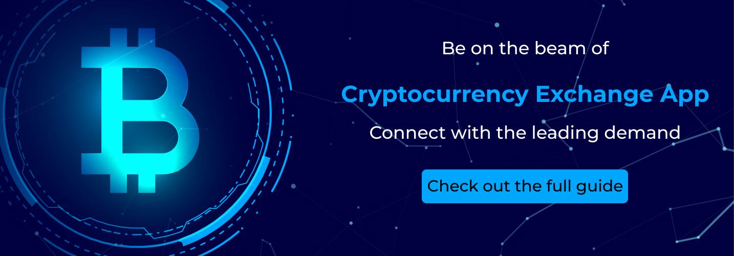 cryptocurrency exchange app cta