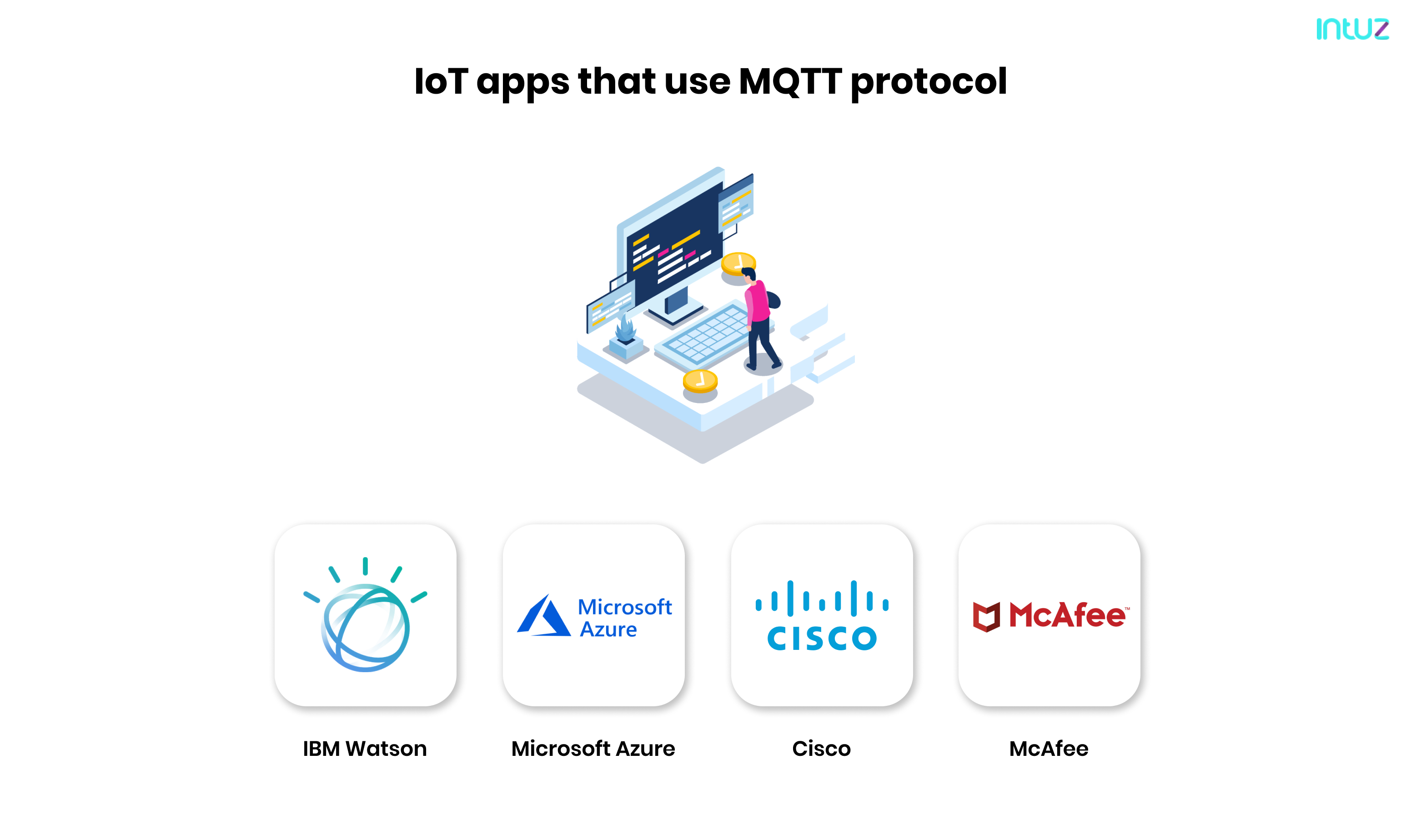 IoT apps that use MQTT protocol
